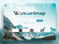 WanderSnap Landing Page Website