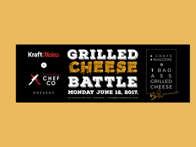 Grilled Cheese Battle ―Gastronomic Event