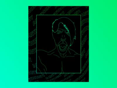 Anthony Kiedis ―Digital Portraits