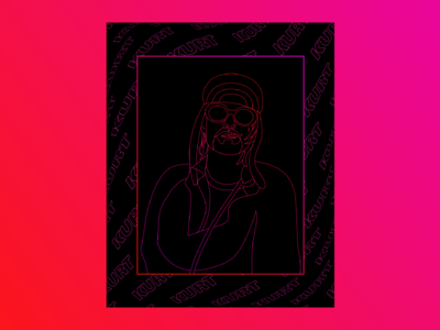 Kurt Cobain ―Digital Portraits