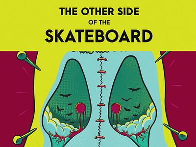 The other side of the skateboard - 11 skateboard illustrations artwork skateart illustration vector crazy illustrations monster skate deck detailed illustrations board skateboard illustrations skateboard graphics skateboarddesign skateboard design illustrator