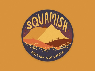 Sticker for Squamish