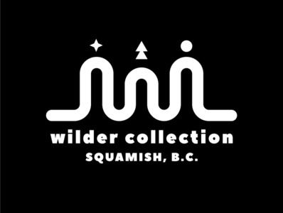 Wilder Collection Shirt minimalism lines trees freelance screen printing screen print shirts tree mountain squamish illustrator vancouver graphic design illustration