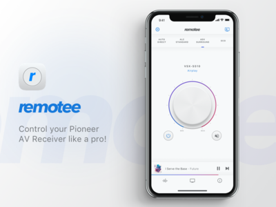 remotee - remote app for Pioneer AV Network Receivers