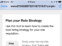 Plan your role strategy