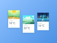 Weather card practice