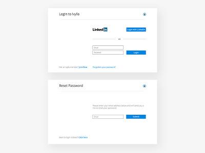 Ivylla Login UI lumni linkedin airbnb ivylla signup login
