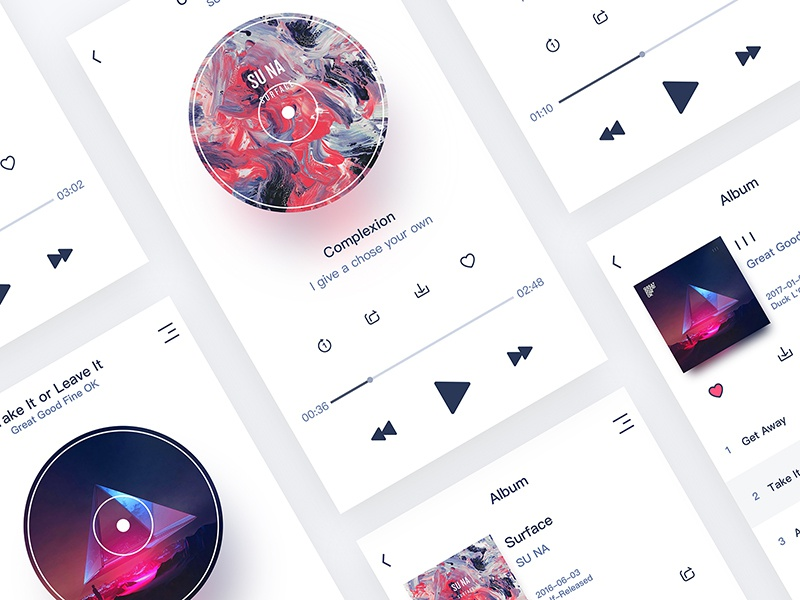 Music app demo800