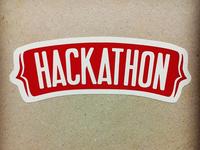 Hackathon Sticker