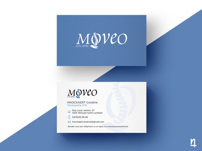 Moveo - Logotype & Business Cards