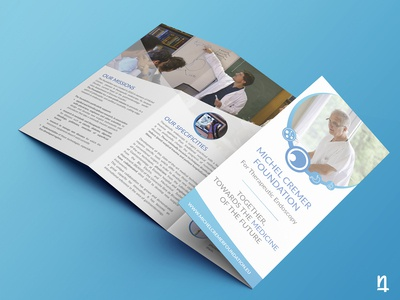 Michel Cremer Foundation - Leaflet