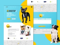 Dogitup - One page