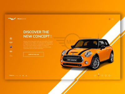 MINI - Splashpage Car Dealer #5