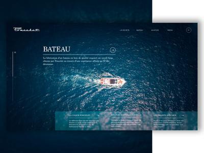Web UI Luxury Boat #1
