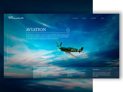Web UI Luxury Airplane #2