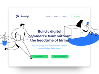 Prodigi.team - Landing page