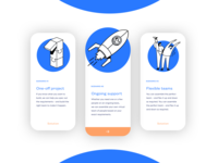 Prodigi.team - Interaction features (cards)