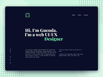 Portfolio | 2018 ui portfolio site portfolio design website design website personal website portfolio