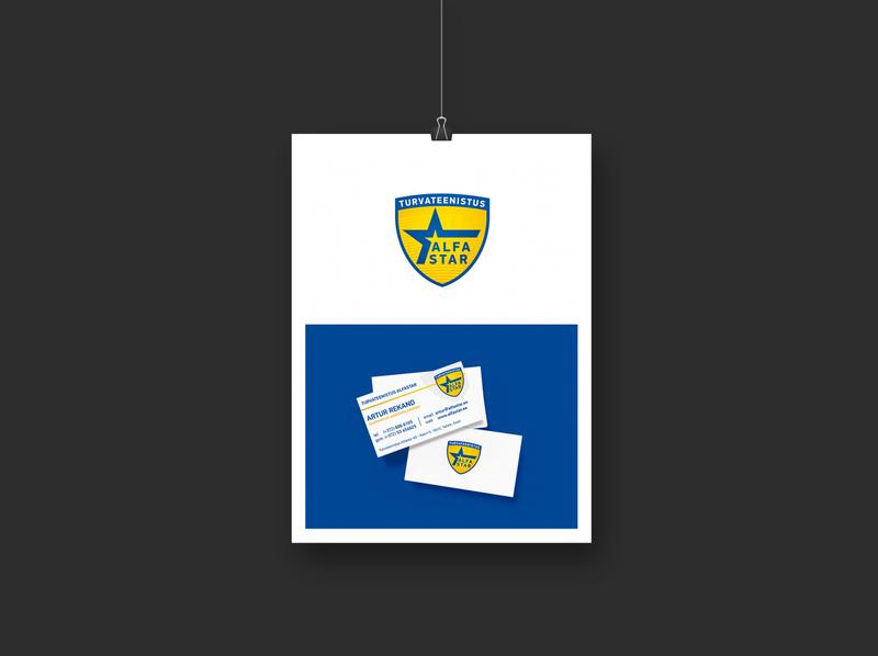 Alfastar identity branding corporate design identity