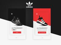 Adidas UI application