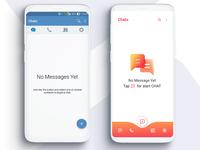 ZANGI Free Messenger. UI/UX redesign
