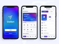 Colibri Payment application