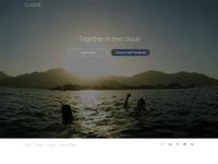 Clique Landing Page