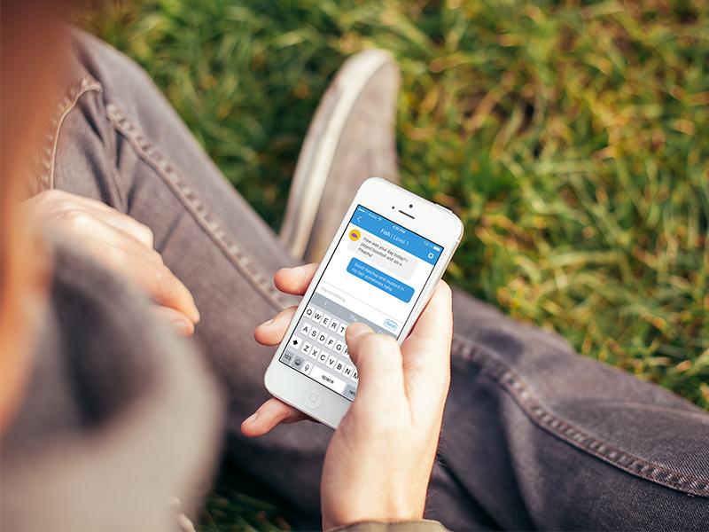 Penpal iOS App penpal ux user experience messaging message letter handwrite connect trust friends young