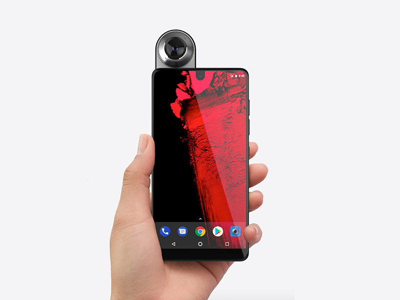 Essential Phone ui system phone rubin andy mobile os android essential