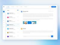 Web Application Inbox/Messaging Dashboard