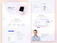 Appart - App Landing Page - 2