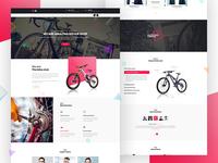 Car & Bicycle Repair Theme Design - Home Version 1