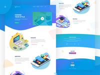 Charity Startup Website Design