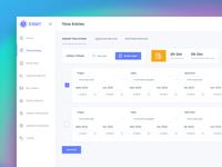 Time Tracking & Billing Application - Timesheet Screen