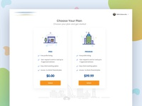 Financial Advising Website Design - Pricing Page