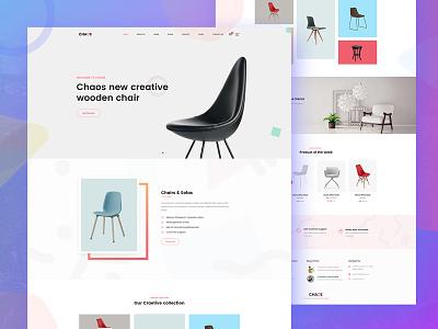 Chaoz - Creative Multi-Purpose WordPress Theme Design sign up illustration landing page design wordpress theme theme design ux ui uiux ux design ui design web design website design