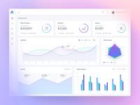 Web Application - Analytical Dashboard Design