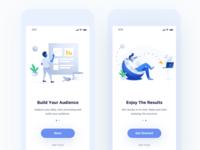 Social Media iOS App UI Kit - WIP