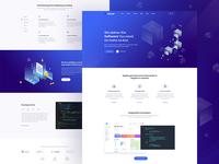 Software Landing Page Design - WIP