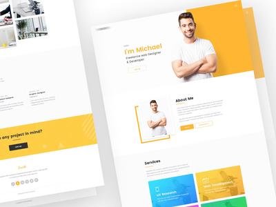 Personal Resume & Portfolio Website Design - WIP