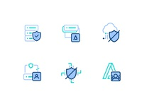Outline Icon Design For An ERP Saas Product