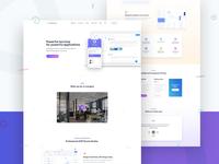 Saas Startup Landing Page Design