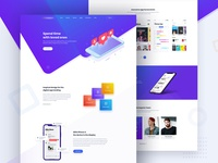 Saasland App Software Saas Startup Showcase Theme Landing Page D