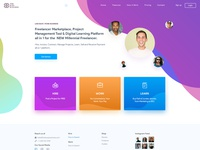 B2B & B2C Website Landing Page Design