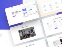 Saas Based Startup Landing Page Design