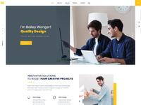 Mak personal portfolio cv vcard resume wordpress theme by droitlab home 2