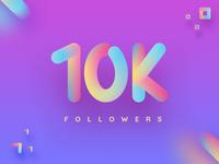 10K Followers - HURRAY!