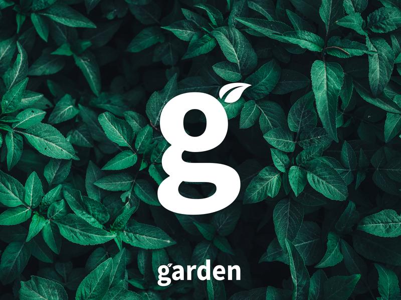 Garden branding g letter g mark g logo g restaurant coffee place coffee garden leaves leaf graphicdesign minimal logo design branding simple mark logo logodesign design