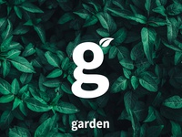 Garden Branding 🍃 g letter g mark g logo g restaurant coffee place coffee garden leaves leaf graphicdesign minimal logo design branding simple mark logo logodesign design