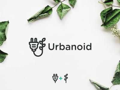 Urban farming graphicdesign urbanfarming farm farming leaves leaf mark icon branding simple logo logodesign design